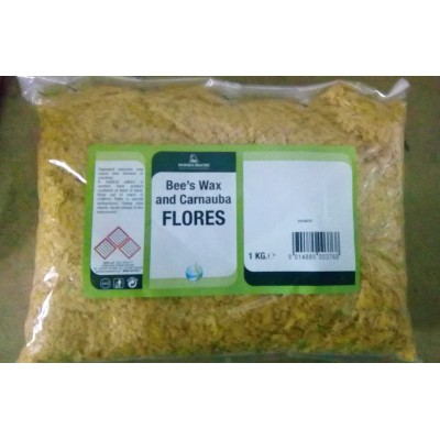 Карнаубский воск в хлопьях Bees Wax carnauba Flores Borma