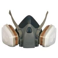 Многоразовая полумаска 3М серии 7502 с фильтрами и держателями