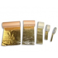 Поталь в рулонах золотая 10смх50м Италия