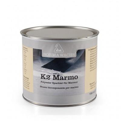 Шпатлевка для мрамора, Marmor K2  Borma Wachs 125 мл