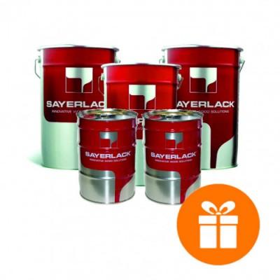 Комплект  материалов для прозрачной отделки Sayerlack  366 евро/100 л.