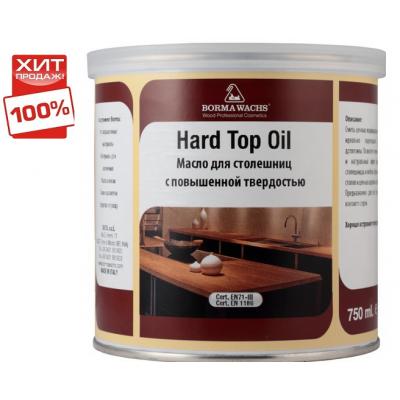 Масло для столешниц твердое HARD TOP OIL 0,750 л